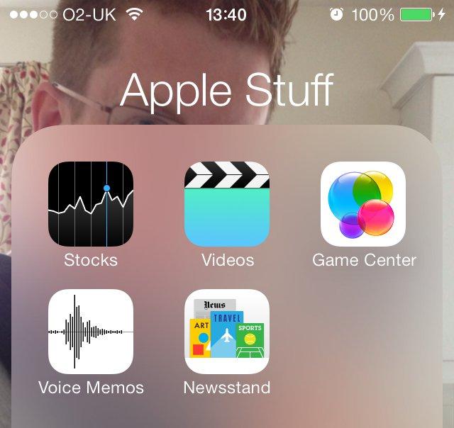 cancellare app iphone