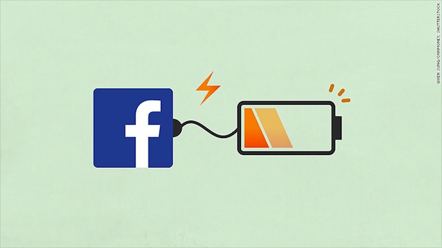 Ridurre Consumo Batteria Facebook iPhone