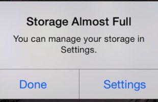 Pulire Memoria iPhone