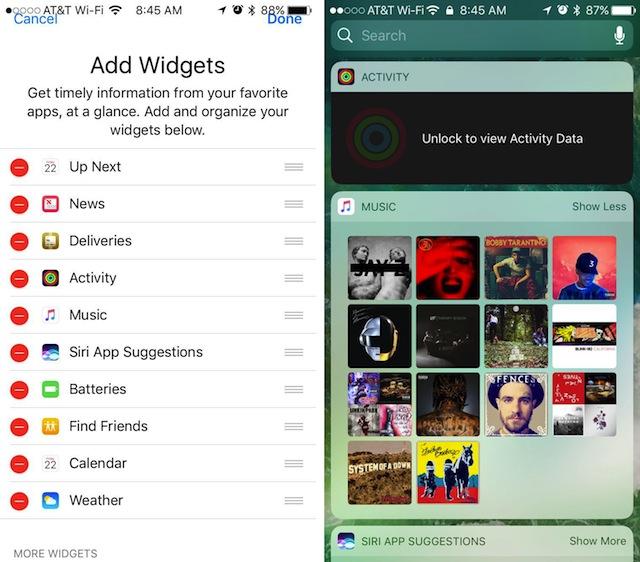 Usare Lock Screen iOS 10