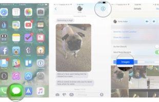 Gestire Allegati Messaggi iPhone