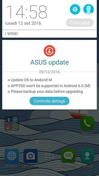 Aggiornamento ZenFone Selfie (ZD551KL)