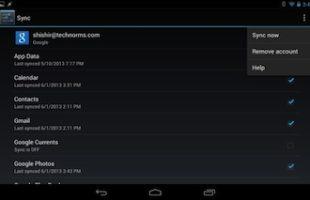 Cambiare Sincronizzazione Android