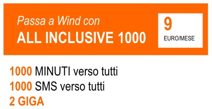 Wind All Inclusive 1000