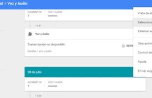 Eliminare Audio Salvato da Google