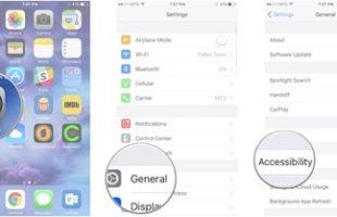 Facilitare Accessibilità iPhone