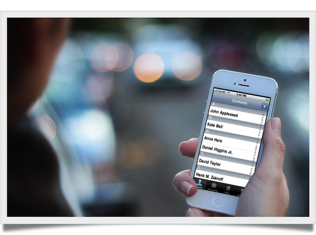 Trasferire Contatti da iPhone a iPhone
