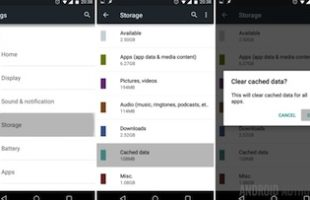 Pulire Cache Android