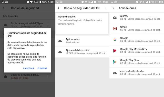Copia di Sicurezza Google Drive