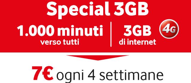Special 3G di Vodafone