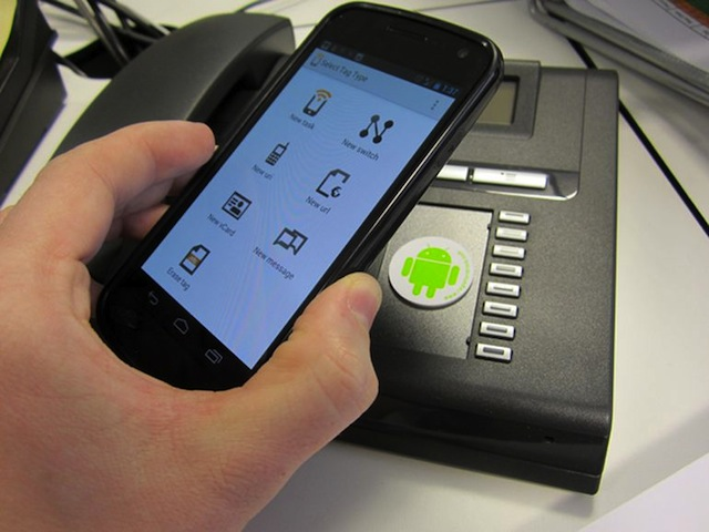 Usare NFC Android
