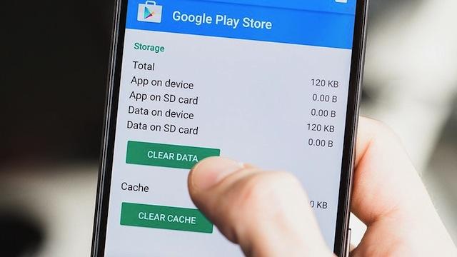 Pulire Cache e Dati App