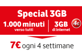 Offerta Vodafone Special 3GB