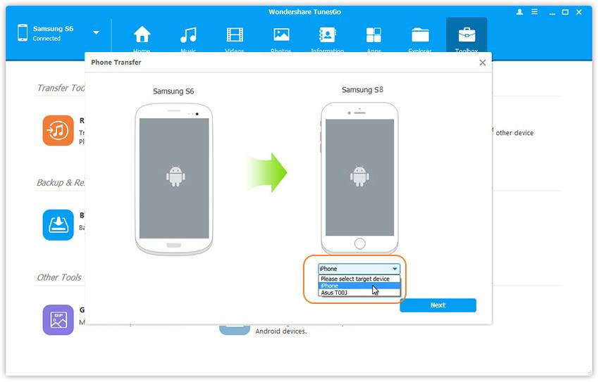 Best Way to Sync iCloud Contacts to Samsung Galaxy Phone