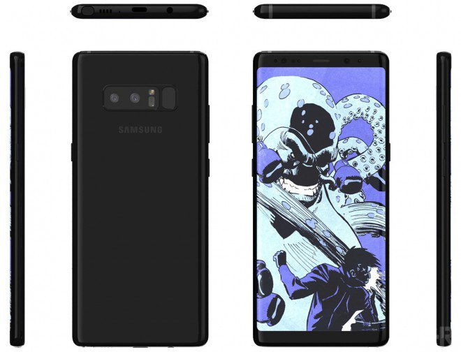 Samsung Galaxy Note 8 Emperor Edition