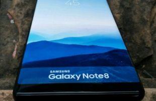 Foto Galaxy Note 8 reali