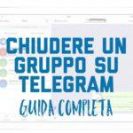 Come eliminare i gruppi su Telegram Desktop