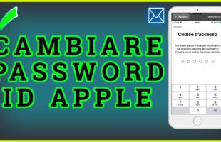 Come cambiare password ID Apple su iPhone X