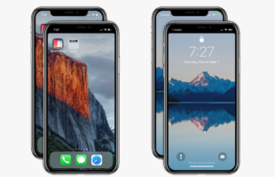 Come far sparire il notch con un'app su iPhone X