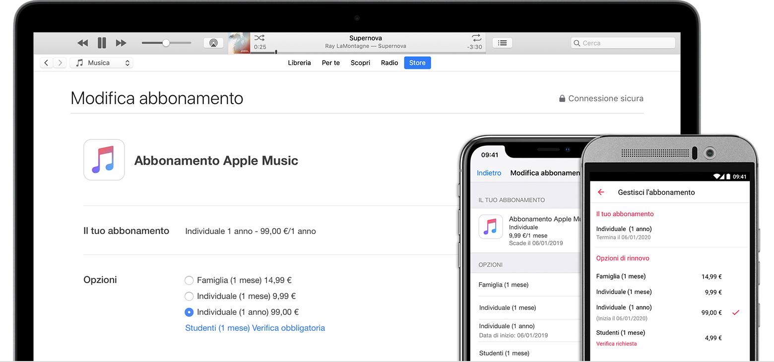 Come disattivare un abbonamento Apple Music da iTunes