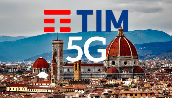 TIM accende ufficialmente il 5G a Firenze: scopriamo le aree interessate