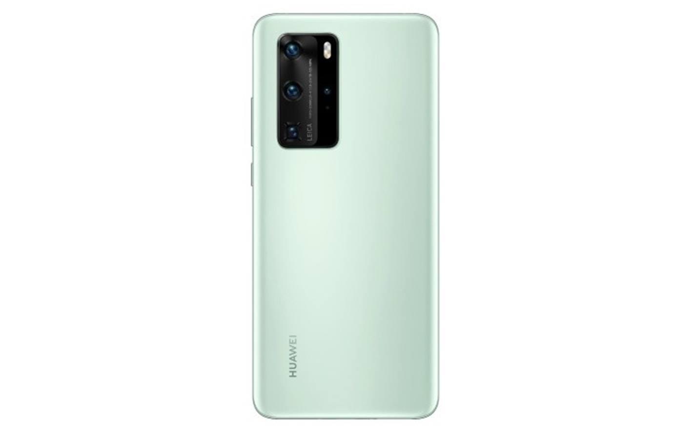 Huawei P40 Pro pronto a debuttare nell'inedita colorazione menta: ecco i primi scatti
