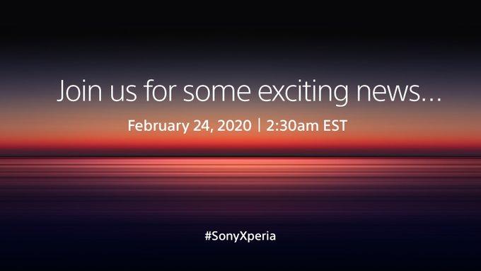 Sony Xperia si appresta a debuttare: l'attesissimo evento di lancio in diretta su YouTube dal 24 febbraio