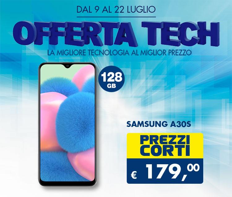 Offerta Samsung Galaxy A30s